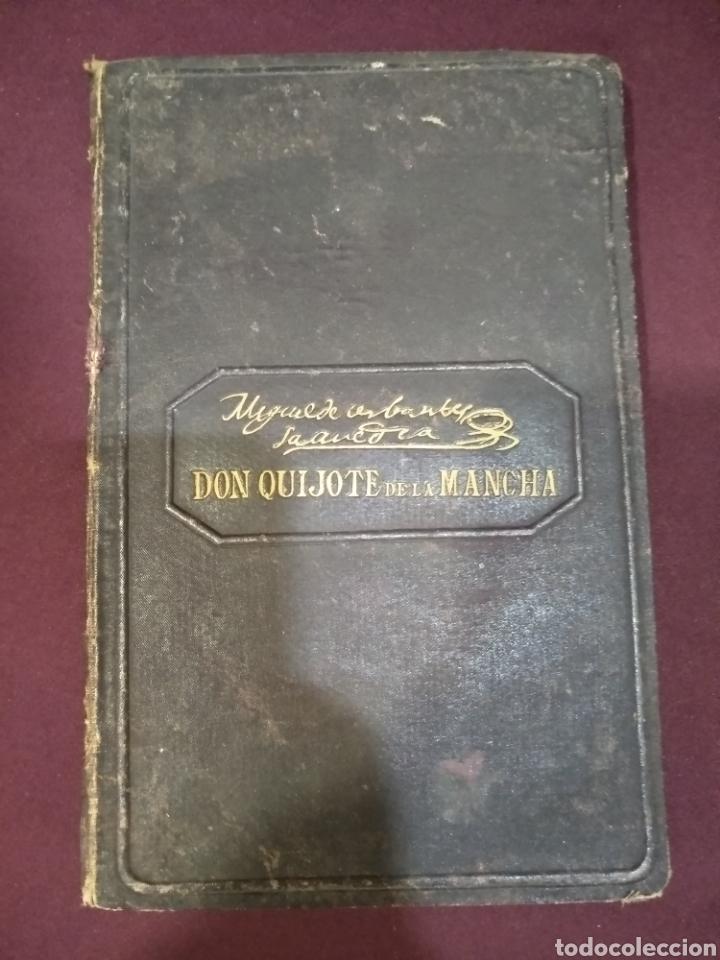 Libros antiguos: Don quijote de la mancha, 1881, imprenta Luis tasso, primera edición económica, - Foto 2 - 199625385