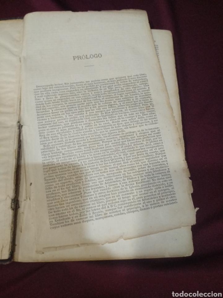 Libros antiguos: Don quijote de la mancha, 1881, imprenta Luis tasso, primera edición económica, - Foto 4 - 199625385