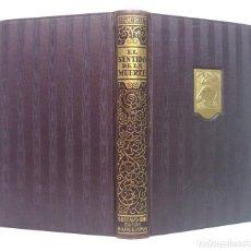 Libri antichi: 1917 - PABLO BOURGET: EL SENTIDO DE LA MUERTE - NOVELA - G. GILI ED., COLECCIÓN SELECTA INTERNACIONA. Lote 200156283