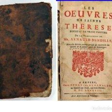 Libros antiguos: AÑO 1688: OBRAS DE SANTA TERESA DE JESÚS.. Lote 200292406