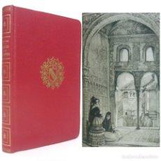 Libri antichi: 1953 - WASHINGTON IRVING: CUENTOS DE LA ALHAMBRA - ILUSTRADO CON 32 LÁMINAS. Lote 202269126