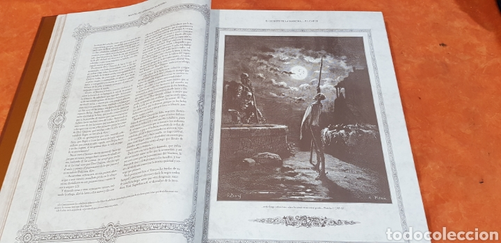 Libros antiguos: El Ingenioso Hidalgo don Quixote de la mancha- gran formato.ilustraciones de Gustavo Doré, Pisan. - Foto 6 - 202311211