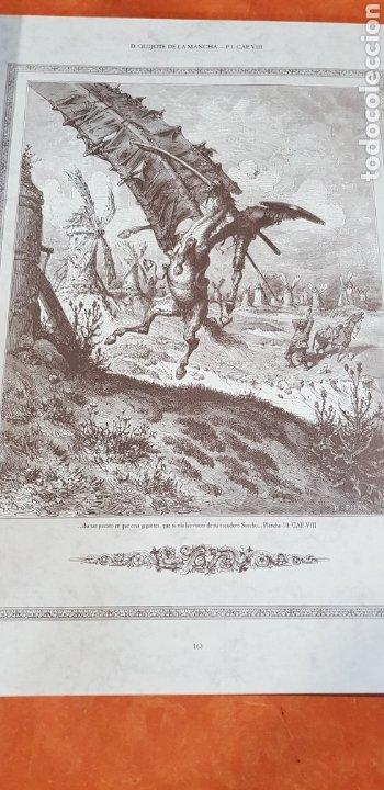 Libros antiguos: El Ingenioso Hidalgo don Quixote de la mancha- gran formato.ilustraciones de Gustavo Doré, Pisan. - Foto 7 - 202311211