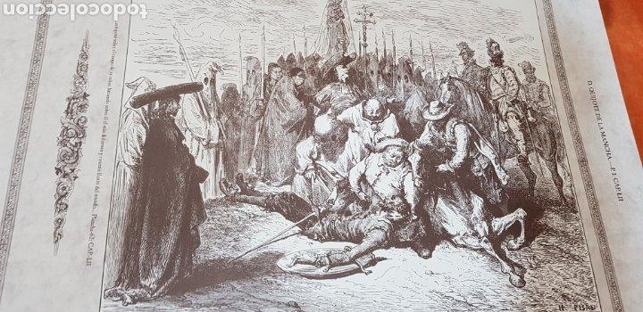 Libros antiguos: El Ingenioso Hidalgo don Quixote de la mancha- gran formato.ilustraciones de Gustavo Doré, Pisan. - Foto 10 - 202311211