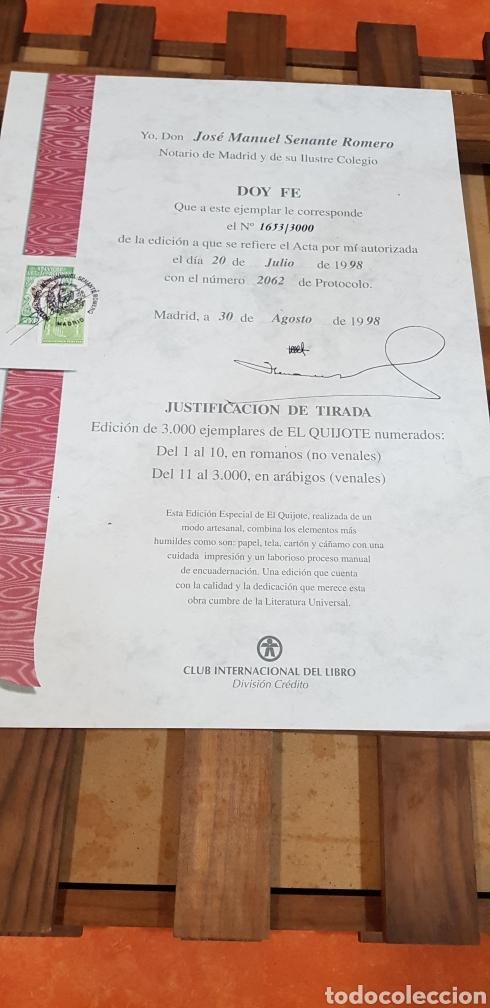 Libros antiguos: El Ingenioso Hidalgo don Quixote de la mancha- gran formato.ilustraciones de Gustavo Doré, Pisan. - Foto 16 - 202311211