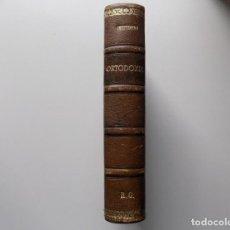 Libri antichi: LIBRERIA GHOTICA. LUJOSA EDICIÓN EN PIEL DE CHESTERTON. ORTODOXIA.1920.SATURNINO CALLEJA.. Lote 202833063