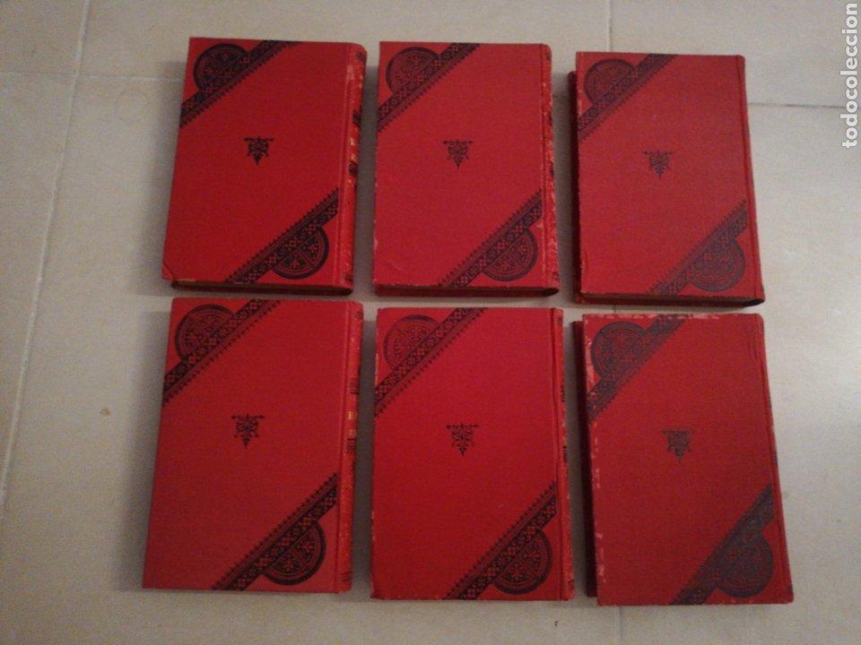 Libros antiguos: Alejandro Dumas el vizconde de Bragelonne (5 tomos) editorial moucciaño, año 1905 - Foto 6 - 203189758