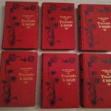 Libros antiguos: ALEJANDRO DUMAS EL VIZCONDE DE BRAGELONNE (5 TOMOS) EDITORIAL MOUCCIAÑO, AÑO 1905. Lote 203189758