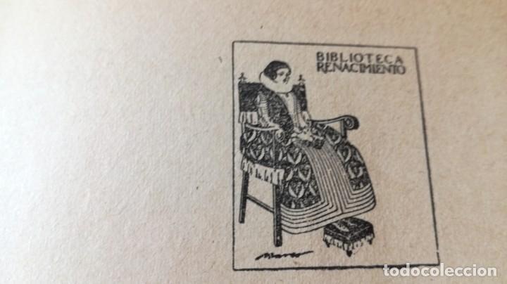 Libros antiguos: GUZMAN DE ALFARACHE - MATEO ALEMAN - RENACIMIENTO - 1912 / S-201 - Foto 7 - 203194256