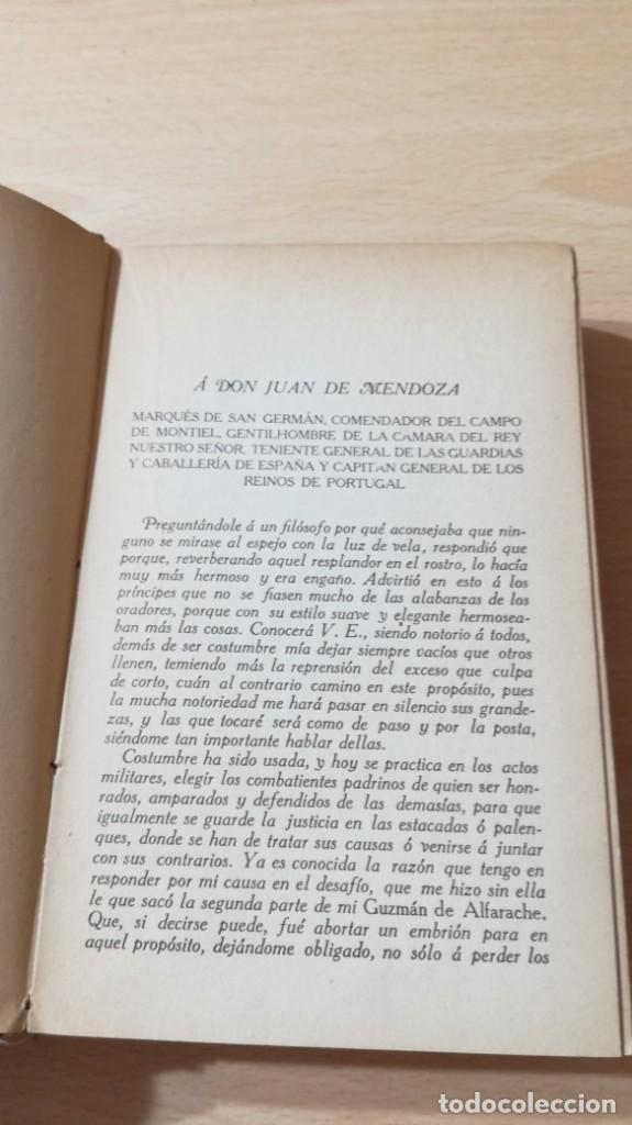 Libros antiguos: GUZMAN DE ALFARACHE - MATEO ALEMAN - RENACIMIENTO - 1912 / S-201 - Foto 11 - 203194256