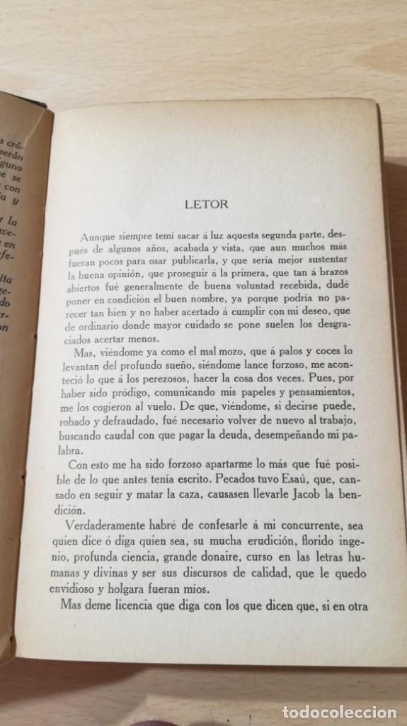 Libros antiguos: GUZMAN DE ALFARACHE - MATEO ALEMAN - RENACIMIENTO - 1912 / S-201 - Foto 12 - 203194256