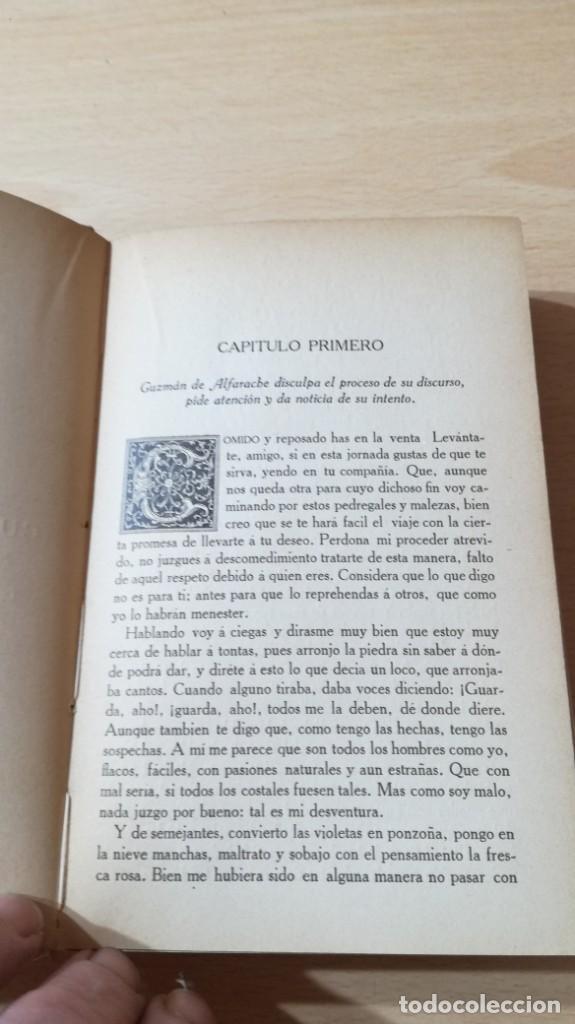 Libros antiguos: GUZMAN DE ALFARACHE - MATEO ALEMAN - RENACIMIENTO - 1912 / S-201 - Foto 15 - 203194256