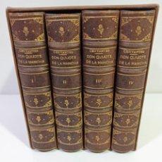 Libri antichi: EL INGENIOSO HIDALGO DON QUIJOTE DE LA MANCHA / IMPRENTA DE DON MANUEL RIVADENEYRA, 1863. Lote 203361126