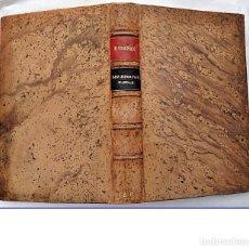 Libros antiguos: BLASCO IBÁÑEZ. LOS MUERTOS MANDAN. PROMETEO. ELEGANTE ENCUADERNACIÓN.. Lote 203783030