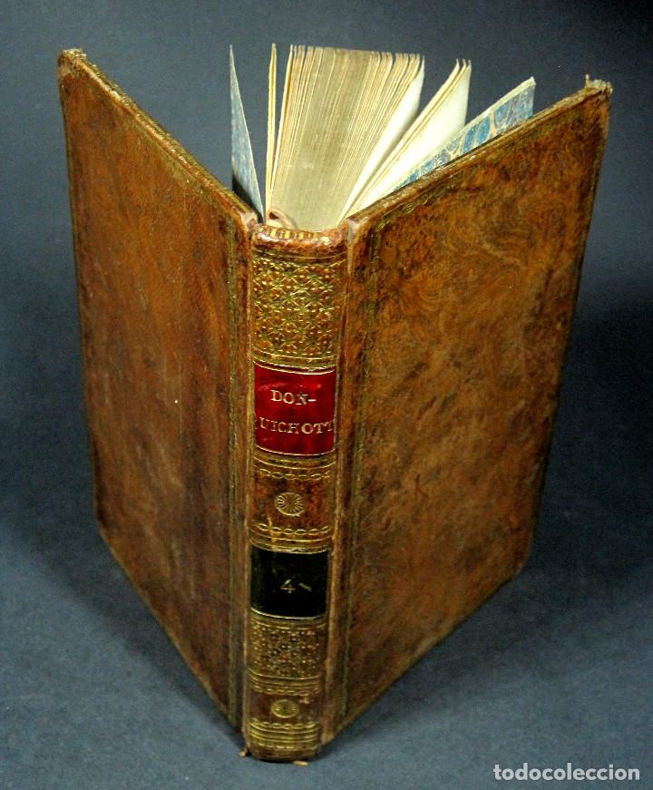 Libros antiguos: Año 1820 Quijote 3 vols. El ingenioso Hidalgo don Quijote de la Mancha Cervantes Grabados Quixote - Foto 17 - 235296155