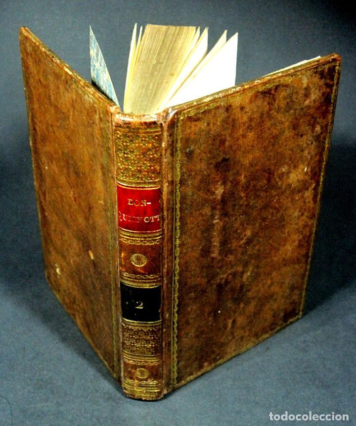 Libros antiguos: Año 1820 Quijote 3 vols. El ingenioso Hidalgo don Quijote de la Mancha Cervantes Grabados Quixote - Foto 18 - 235296155