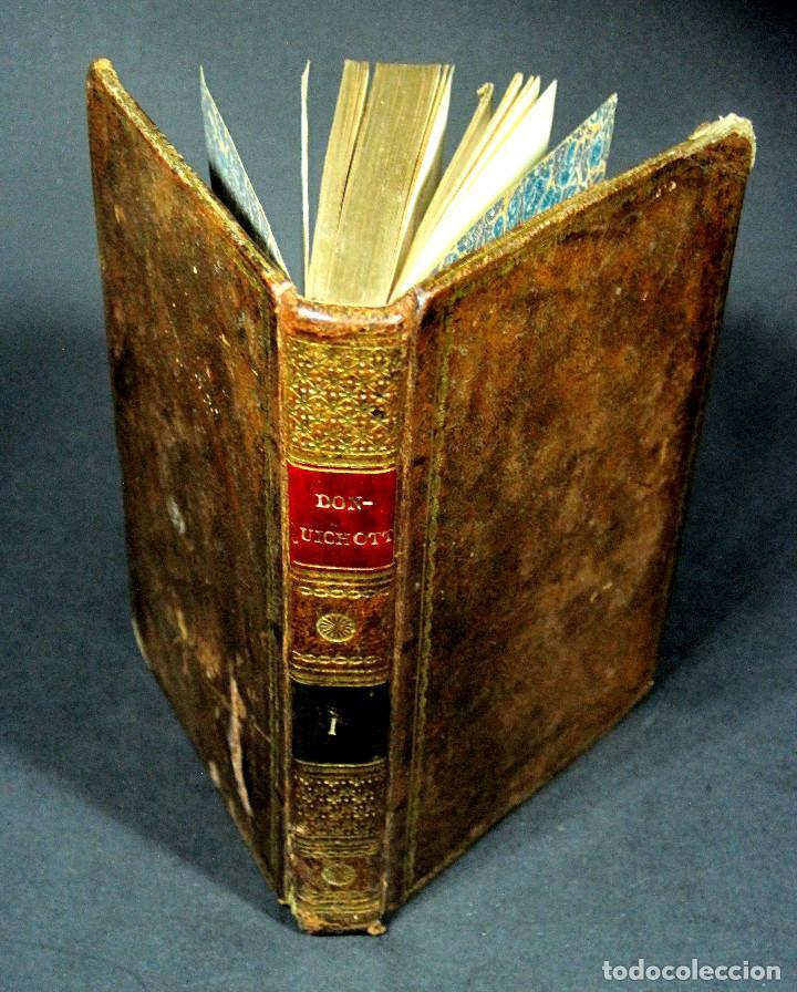 Libros antiguos: Año 1820 Quijote 3 vols. El ingenioso Hidalgo don Quijote de la Mancha Cervantes Grabados Quixote - Foto 19 - 235296155