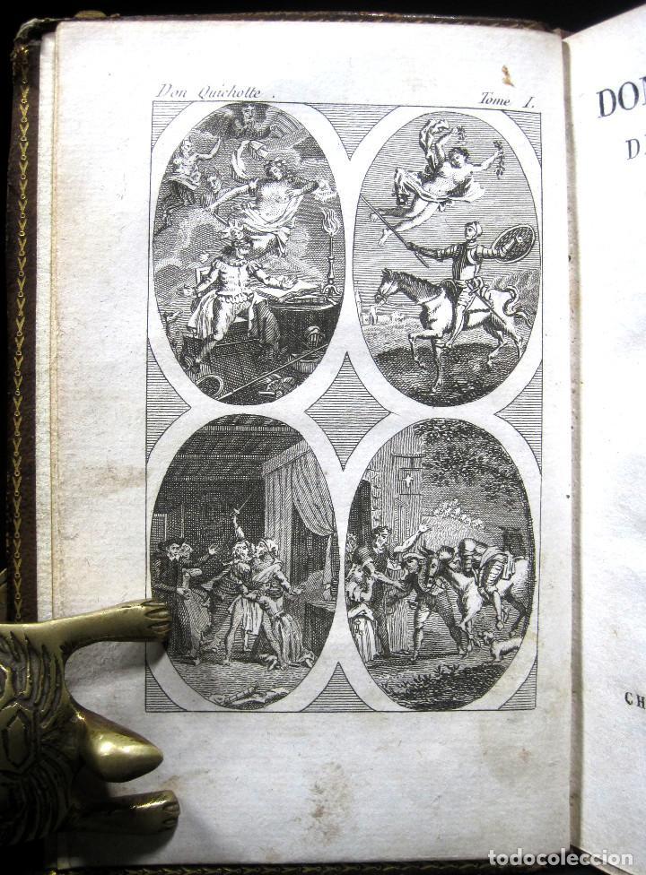 Libros antiguos: Año 1820 Quijote 3 vols. El ingenioso Hidalgo don Quijote de la Mancha Cervantes Grabados Quixote - Foto 21 - 235296155