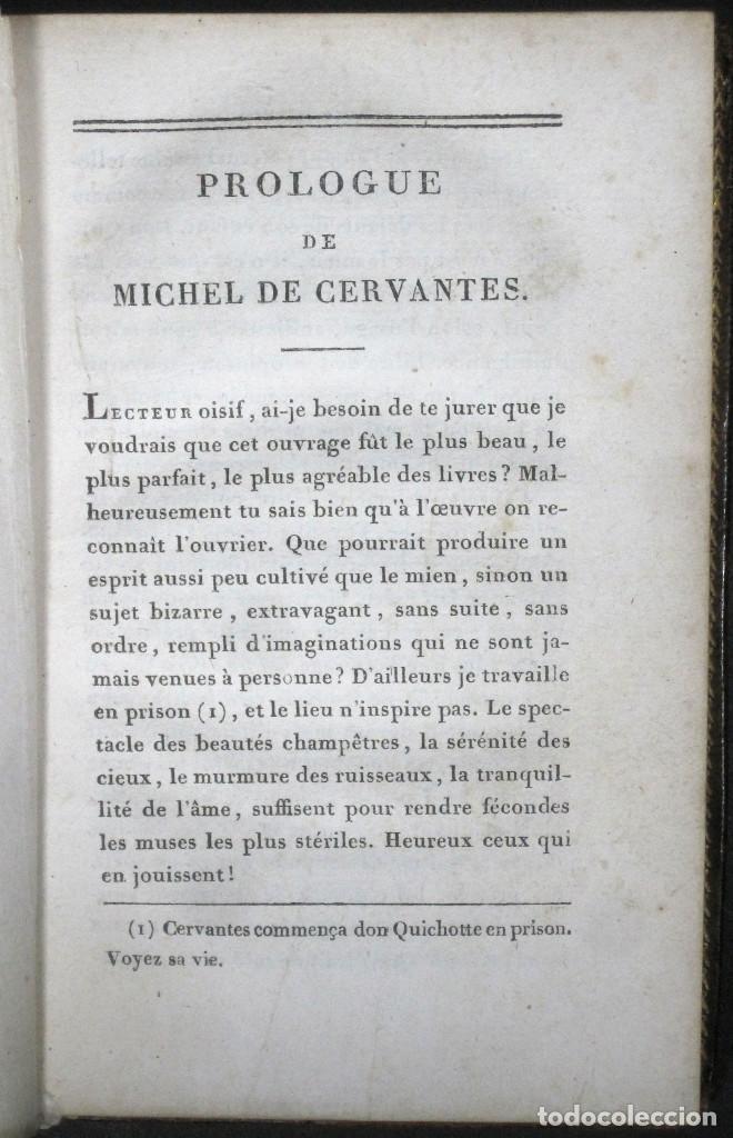 Libros antiguos: Año 1820 Quijote 3 vols. El ingenioso Hidalgo don Quijote de la Mancha Cervantes Grabados Quixote - Foto 24 - 235296155