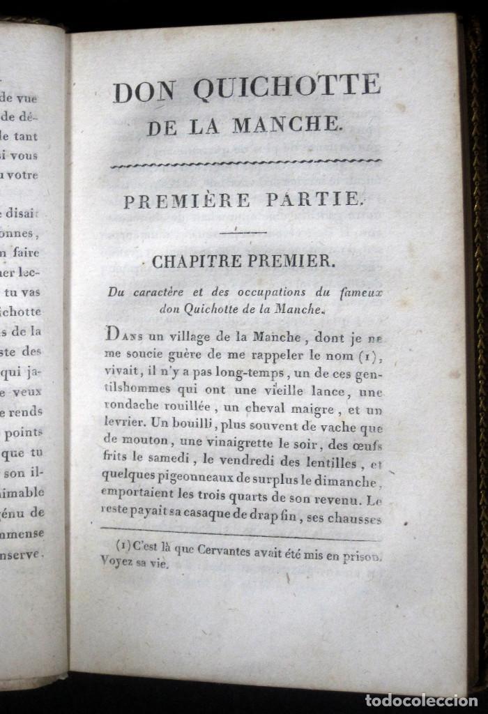 Libros antiguos: Año 1820 Quijote 3 vols. El ingenioso Hidalgo don Quijote de la Mancha Cervantes Grabados Quixote - Foto 25 - 235296155
