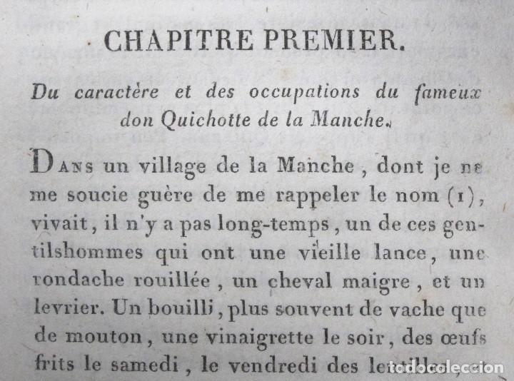 Libros antiguos: Año 1820 Quijote 3 vols. El ingenioso Hidalgo don Quijote de la Mancha Cervantes Grabados Quixote - Foto 2 - 235296155