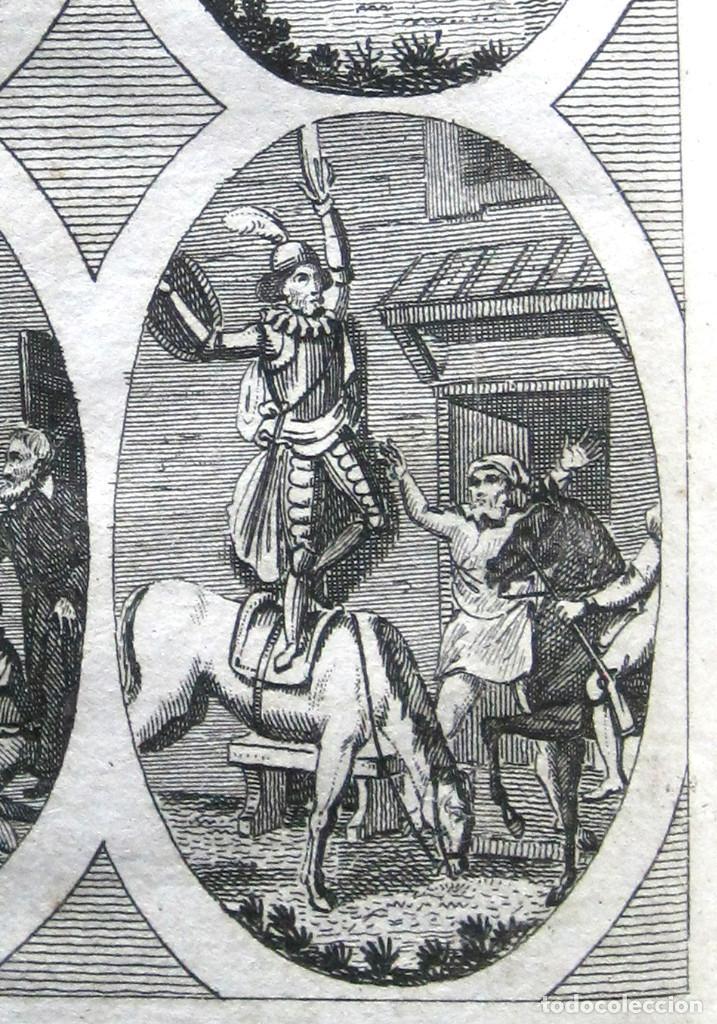 Libros antiguos: Año 1820 Quijote 3 vols. El ingenioso Hidalgo don Quijote de la Mancha Cervantes Grabados Quixote - Foto 5 - 235296155