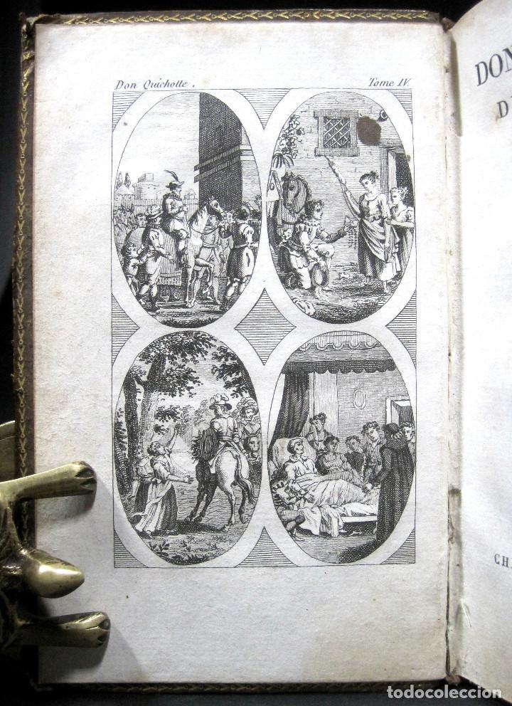 Libros antiguos: Año 1820 Quijote 3 vols. El ingenioso Hidalgo don Quijote de la Mancha Cervantes Grabados Quixote - Foto 9 - 235296155