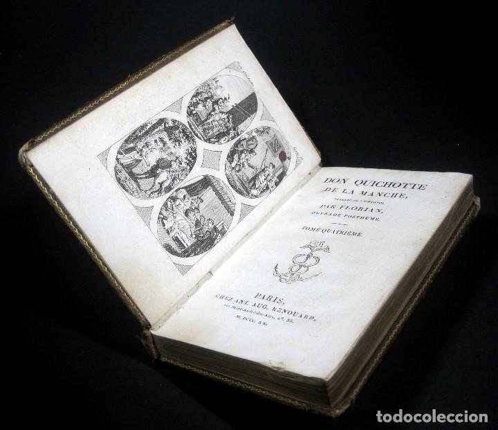Libros antiguos: Año 1820 Quijote 3 vols. El ingenioso Hidalgo don Quijote de la Mancha Cervantes Grabados Quixote - Foto 11 - 235296155