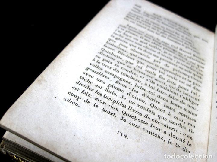 Libros antiguos: Año 1820 Quijote 3 vols. El ingenioso Hidalgo don Quijote de la Mancha Cervantes Grabados Quixote - Foto 12 - 235296155