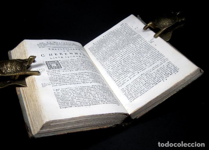 Libros antiguos: Año 1731 Ciceronis Historia De Inventione Rhetoricorum Antigua Roma Venecia Cicerón - Foto 12 - 203813502
