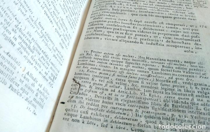 Libros antiguos: Año 1731 Ciceronis Historia De Inventione Rhetoricorum Antigua Roma Venecia Cicerón - Foto 21 - 203813502