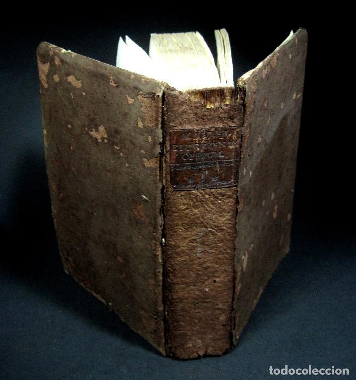 Libros antiguos: Año 1731 Ciceronis Historia De Inventione Rhetoricorum Antigua Roma Venecia Cicerón - Foto 22 - 203813502