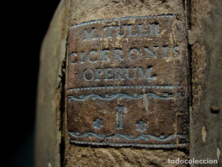 Libros antiguos: Año 1731 Ciceronis Historia De Inventione Rhetoricorum Antigua Roma Venecia Cicerón - Foto 23 - 203813502