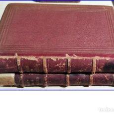 Libros antiguos: AÑO 1877: OBRAS DE GUSTAVO ADOLFO BÉCQUER. 2 TOMOS.. Lote 203987056