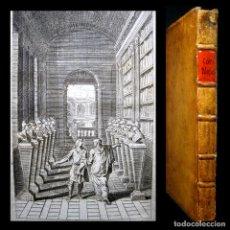 Libros antiguos: AÑO 1748 ANTIGUA GRECIA Y ROMA IMPERATORUM VITAE CORNELII NEPOTIS VIDAS DE NEPOTE GRABADO RARO. Lote 204100428