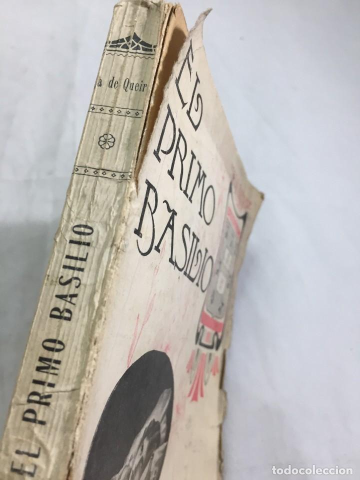 Libros antiguos: El primo Basilio. Eça de QUEIROZ, Tomo segundo, Traducción Valle Inclán Casa Editorial Maucci, 1904 - Foto 2 - 204355377