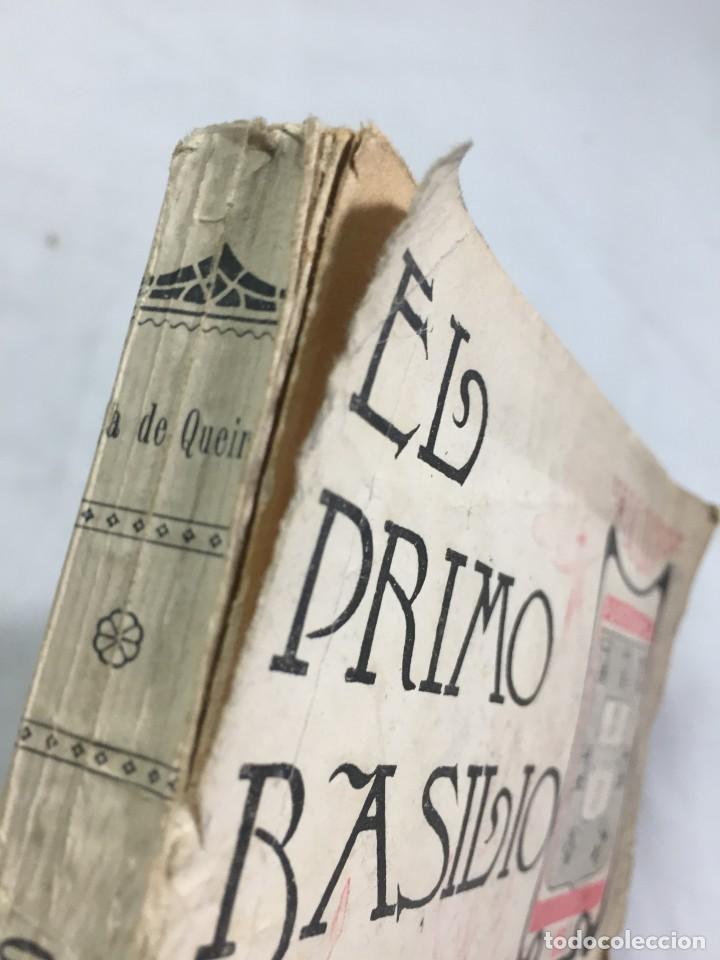 Libros antiguos: El primo Basilio. Eça de QUEIROZ, Tomo segundo, Traducción Valle Inclán Casa Editorial Maucci, 1904 - Foto 4 - 204355377