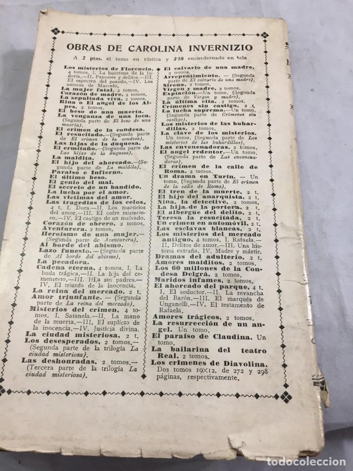 Libros antiguos: El primo Basilio. Eça de QUEIROZ, Tomo segundo, Traducción Valle Inclán Casa Editorial Maucci, 1904 - Foto 13 - 204355377