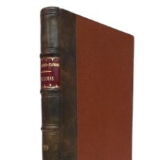 Libros antiguos: 1930 - WENCESLAO FERNÁNDEZ FLÓREZ: FANTASMAS - CUENTOS - ENCUADERNACIÓN - PIEL. Lote 204608078