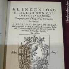 Libros antiguos: DON QUIJOTE DE LA MANCHA, ED. SATURNINO CALLEJA.. Lote 235304405