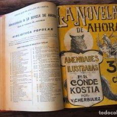 Libros antiguos: LA NOVELA DE AHORA Y LA NOVELA ILUSTRADA 3ª EPOCA.. Lote 204976036