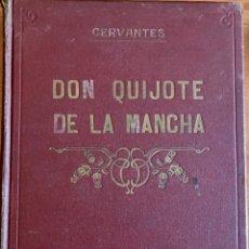 Libros antiguos: DON QUIJOTE DE LA MANCHA. CERVANTES. ILUSTRACIONES DE G. DORÉ. IMPRENTA RIERA. 1880. Lote 205004005
