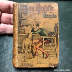 Libros antiguos: DON QUIJOTE DE LA MANCHA, 1903 EDICIÓN MICROSCÓPICA EDITOR SATURNINO CALLEJA, 10X7CM.. Lote 205060913