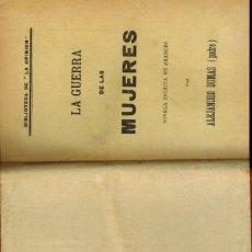 Libros antiguos: LA UERRA DE LAS MUJERES. Lote 205101406