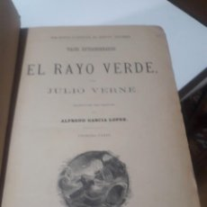 Libros antiguos: BIBLIOTECA ILUSTRADA DE GASPAR Y ROIG. VARIAS OBRAS. JULIO VERNE 1884 GRABADOS Y MAPAS. Lote 205168136