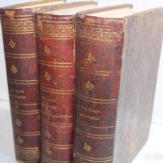 Libros antiguos: 1858-1860 / LOS HIJOS DEL PUEBLO / EUGENIO SUE / 3 TOMOS / IMPRENTA DE D.JUAN OLIVARES EDITOR. Lote 205239208