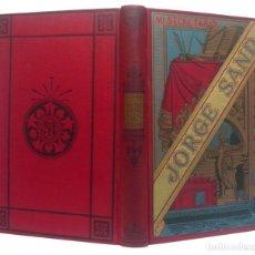 Libros antiguos: 1900 - GEORGE SAND - LEONI LEONE - EDICIÓN MODERNISTA ILUSTRADA - ROMANTICISMO - ARTE Y LETRAS. Lote 205240018