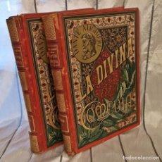 Libros antiguos: LA DIVINA COMEDIA. Lote 205257978