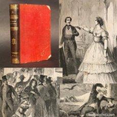 Libros antiguos: 1866 - EL COLLAR DEL DIABLO - GRABADOS - MEMORIAS DE UN RESUCITADO. Lote 205309116