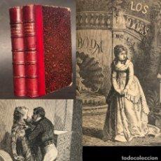 Libros antiguos: 1872 - LOS DULCES DE LA BODA - EUSEBIO BLASCO - GRABADOS - PRIMERA EDICIÓN. Lote 205314930